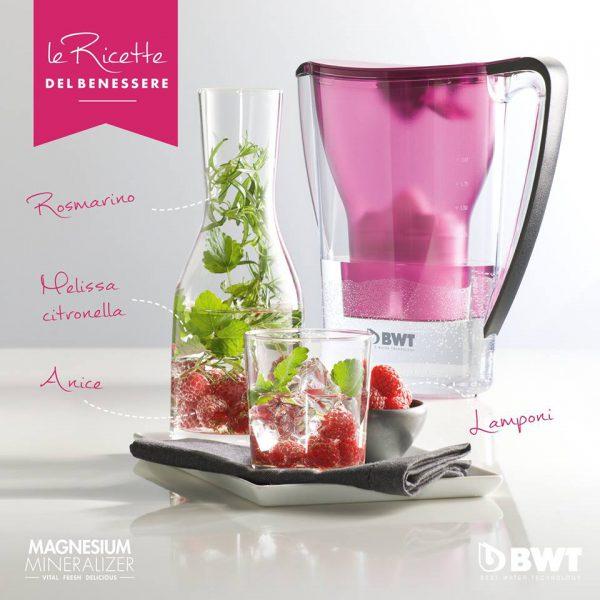 Acqua da gourmet BWT, mineralizzata al Magnesio